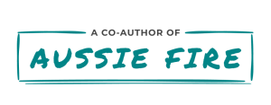 Aussie FIRE eBook Badge - A Co-Author Of
